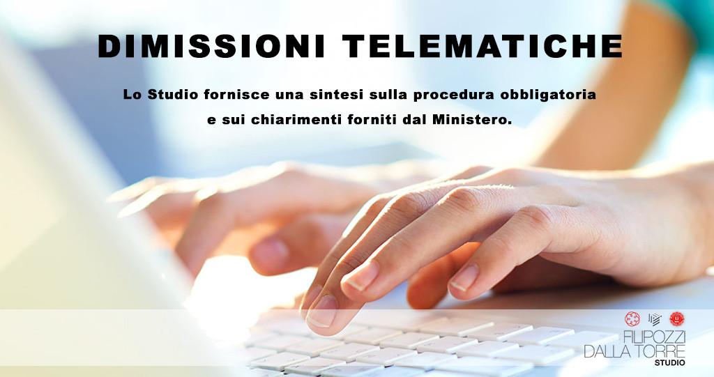 dimissioni telematiche