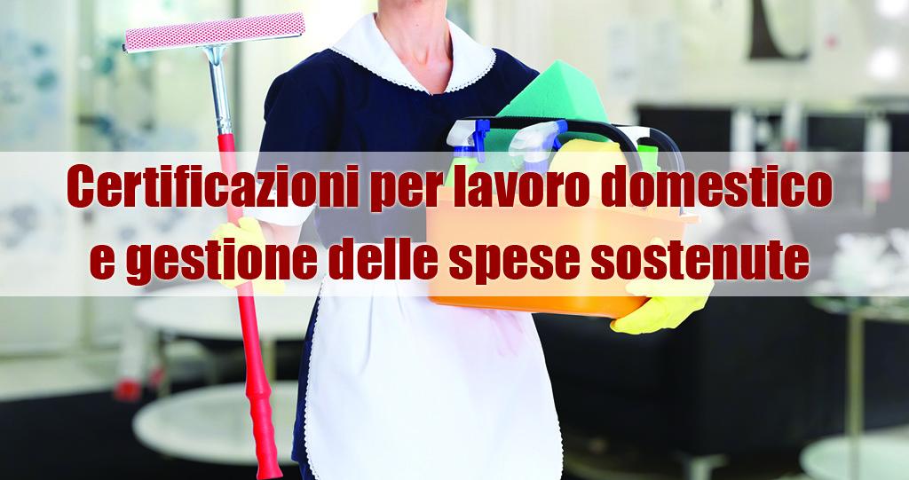 certificazioni lavoro domestico